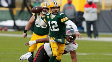 aaron rodgers passing
